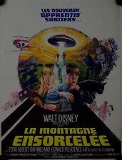 Affiche Cinéma MONTAGNE ENSORCELEE 1975 HOUGH Disney - 40x60cm