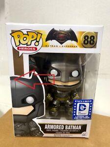 Armored BATMAN Funko POP Vs. Superman DC Legion Of Collectors #88 (Box Issue)