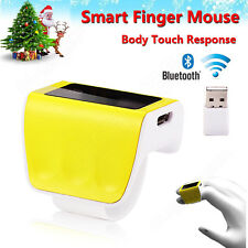Smart Wearable Finger Ring Mouse Body Response Bluetooth Touch Ring Mouse For PC