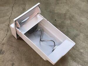 OEM Genuine Frigidaire Refrigerator Ice Bin Auger Container 241716101