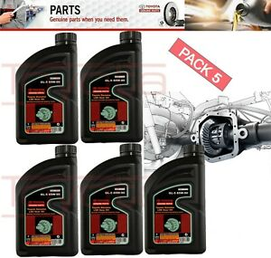 SET 5 GENUINE TOYOTA DIFFERENTIAL GEAR Oil GL-5  85W-90 (1qt.)