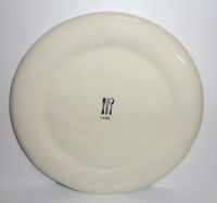 "Rae Dunn ""DINE"" Ivory 11' Icon Dinner Plate"