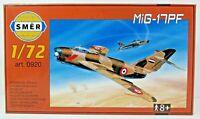 SMER MIG-17 PF, Kampfflugzeug UDSSR, Bausatz 1:72,0920