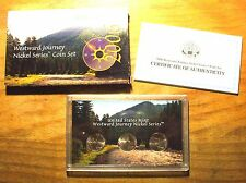 2006 Westward Journey Jefferson Nickel Set - 3 Coin Set - With Box & COA
