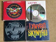 CD Sammlung Lot Collection 4 x Stück LYNYRD SKYNYRD southern rock with promo CD