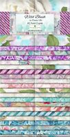 """40-2.5""""STRIPS~WILD BLUSH~WILMINGTON Crystals~""""JELLY ROLL""""~WATERCOLOR FLOWERS"""