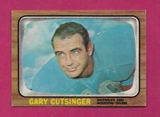 1966 TOPPS # 52 OILERS GARY CUTSINGER  NRMT CARD (INV# A4955)