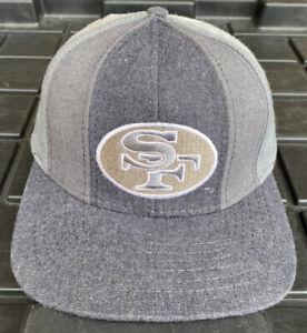 NWOT Vintage San Francisco 49ers American Needle Pinwheel Strapback Hat Cap NFL