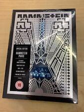 Rammstein – Paris SPECIAL Edition 2CD DVD Box Set NEW