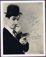 """Orig. Vint. Autographed """" Ben Blue"""" Photo-WB comedian"""