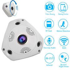 HD 960P WiFi Wireless Hidden Spy Bulb Light CCTV IP PTZ Network Camera IR CUT