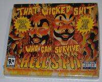 INSANE CLOWN POSSE HELL'S PIT CD, Bonus 3D DVD, With 3D Glasses, SEALED NOS Rare
