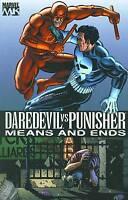 Daredevil vs Punisher Means & Ends by Dave Lapham TPB 2006 1st Print OOP Marvel