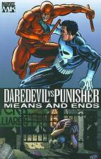 Daredevil vs Punisher Means & Ends by Dave Lapham TPB 2006 1st Print OOP Marvel