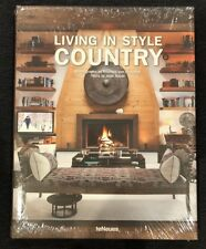 Living in Style: Country by Teneues (English) Hardcover Book