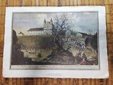 """Franz Anton Danreiter, Salzburg  (4) 13.5"""" x 8.75"""" Prints"""