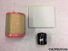Filters Service KIT Dodge Caliber PM 2.0L & 2.4L 2011-2012  FSK/PM/014A