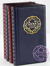 ANNA NUMISMATICS Mini 12 Coin Holders Pocket Hand Album