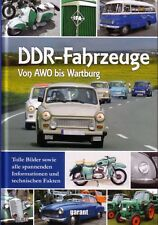 Book - East German Cars Trucks Motorbikes Trabant Wartburg MZ  - DDR Fahrzeuge
