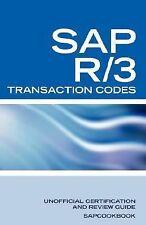 Sap R/3 Transaction Codes : SAP R3 FICO, HR, MM, SD, Basis Transaction Code...