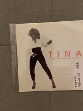 Tina Turner When The Heartache Is Over France Promo Cd