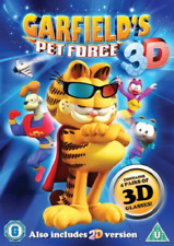 Garfield's Pet Force  DVD NEW