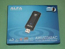 Alfa AWUS036EAC AC1200 USB Wireless adapter 802.11ac high speed dual band Wi-Fi