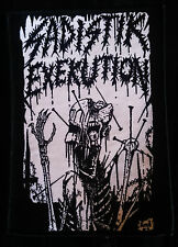 Sadistik Exekution Brains Patch Death Metal Dave Slave Rok Sloth Rev Kris Hades