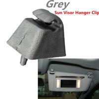 Gancio a Clip parasole grigio staffa per Vauxhall Opel Corsa Astra Zafira Vec