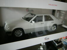 1:18 iScale Mercedes-Benz W124 E-Klasse MOPF II 1989 white/weiss in OVP