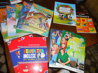 lotto stock libri e corso inglese per bambini e ragazzi -Disney Libri- giromini