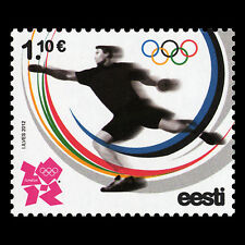 Estonia 2012 MNH 1v, London 2012 Olympic Games, Sports