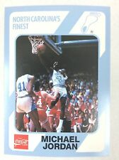 1989 Collgiate Nth Carolina Finest Basketball Trading Card #14: Michael Jordan