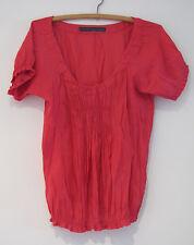 Ladies ZARA BASIC Pink Top Size US S (AUS 10)