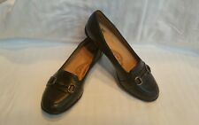 Womens SOFFT  Brown Leather LOAFER  Flats size 7.5M 2006