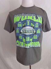 58d5884d4 Seattle Seahawks T Shirt Super Bowl XLVIII Champion Gray Mens Size L