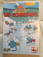 DVD  - LES SCHTROUMPFS - CLASSE DE NEIGE -