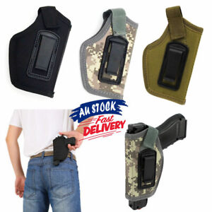 Pistol Holster Police Gun Military Army Tactical Concealed Carry Hold Waist Belt