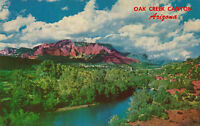 Chrome Postcard ca1960s A563 Oak Creek Canyon Arizona AZ Sedona Petley