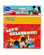 Disney Mickey Mouse Red Treat Loot Bags 8pcs Party Favors Supplies