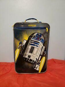 "Star Wars R2D2 18"" Case Rolling Carry-On Bag Travel School Backpack"