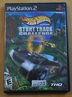 PS2 Game - Hot Wheels Stunt Track Challenge - with Manual, FREE SHIPPING, Tested