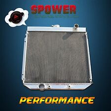 Aluminum Radiator For Ford Falcon XY XW 302 351 GS GT Cleveland 8Cyl 6Cyl 69-72