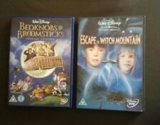 BEDKNOBS & BROOMSTUCKS/ESCAPE TO WITCH MOUNTAIN DVDS (Disney)
