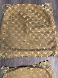 Broyhill Brasilia Original Dining Chair Gold Fabric Covering VERY RARE