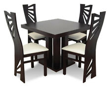 Chair Set Table+4 Chairs Sets Living Room Dining Room Extendable up to 240cm