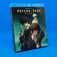 Psycho-Pass: Complete Season 1 One Anime Series Blu-ray + DVD Limited Ed Combo
