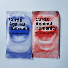 2Pcs (Vote for Hillary&Vote For Trump) Cards Against Booster Expansion Pack