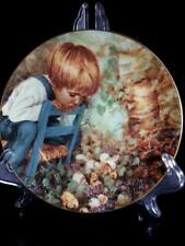 """COLLECTIBLE NANCY TURNER  """"MICHAEL'S MIRACLE"""" LIMITED EDITION STRATFORD COLLECT"""