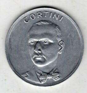 1936 Dutch Aluminum Medal Issued for Royal Cinema, Amsterdam, Cortini Obv.